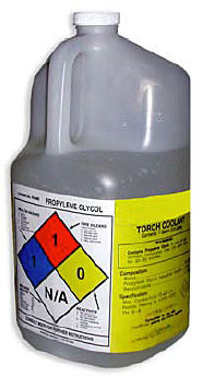 Figure 2 - Torch coolant