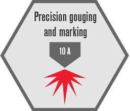 Precision gouging and marking
