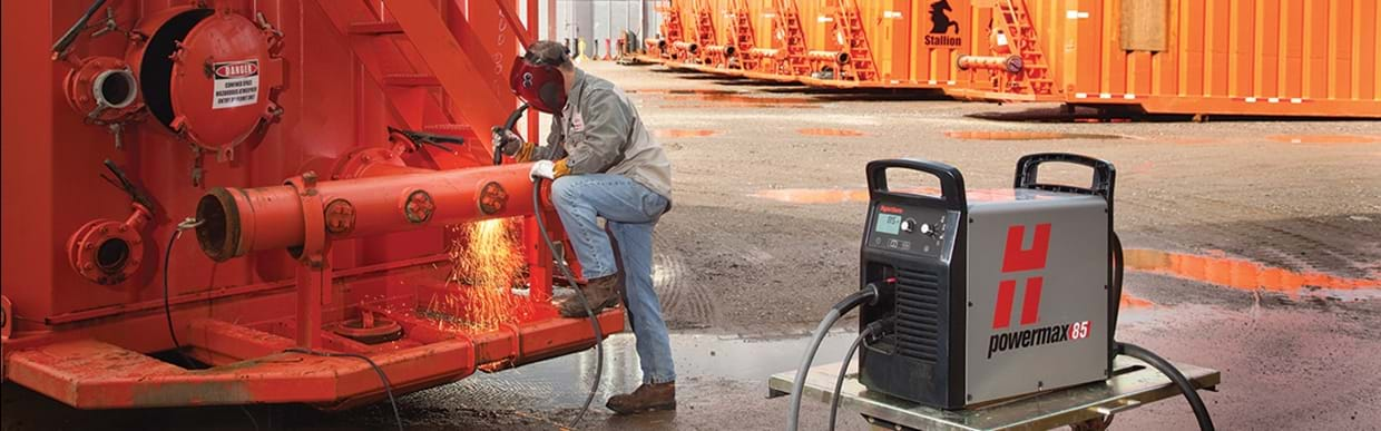 Powermax plasma cutting and gouging systems