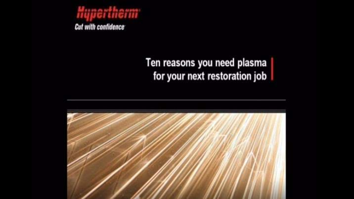 Automotive: 10 reasons you need plasma for your next restoration job