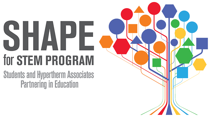 SHAPE for STEM logo