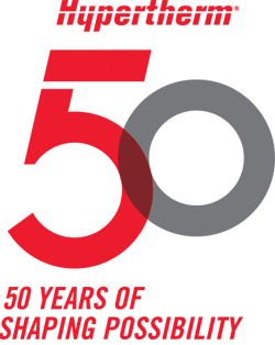 Hypertherm 50th logo