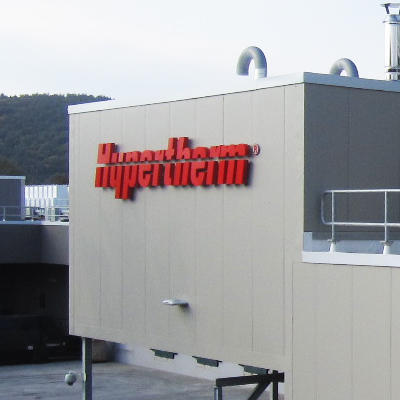 Hypertherm building sign