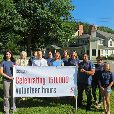 Hypertherm's 150,000 volunteer hours