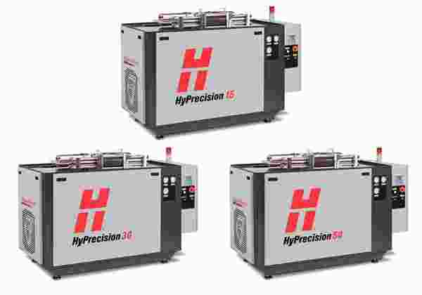 HyPrecision basic series waterjet pumps