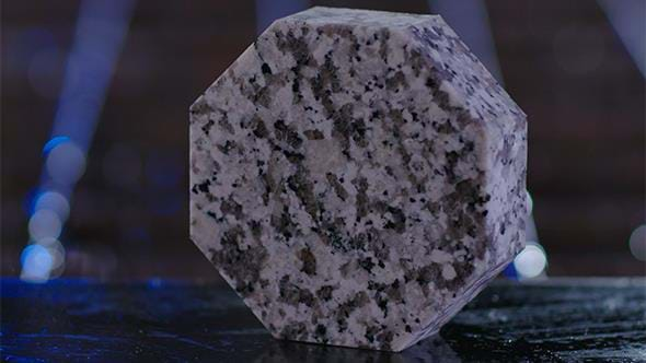 Granite cut sample using HyPrecision Predictive pump