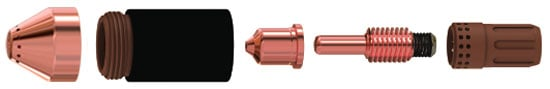 Torch consumable parts