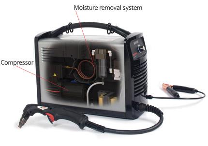 Hypertherm Powermax 30 Air Plasma Cutter 088096 w/ Built-In Air Compressor