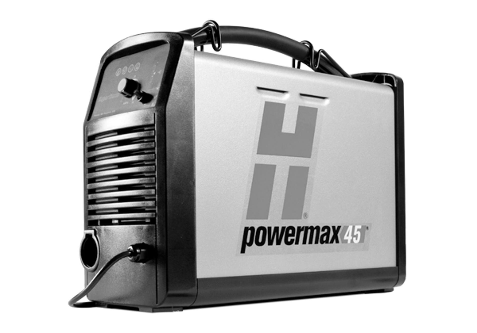 Vintage hypertherm operator manual max 43 plasma arc cutting.