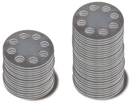 Set of flange