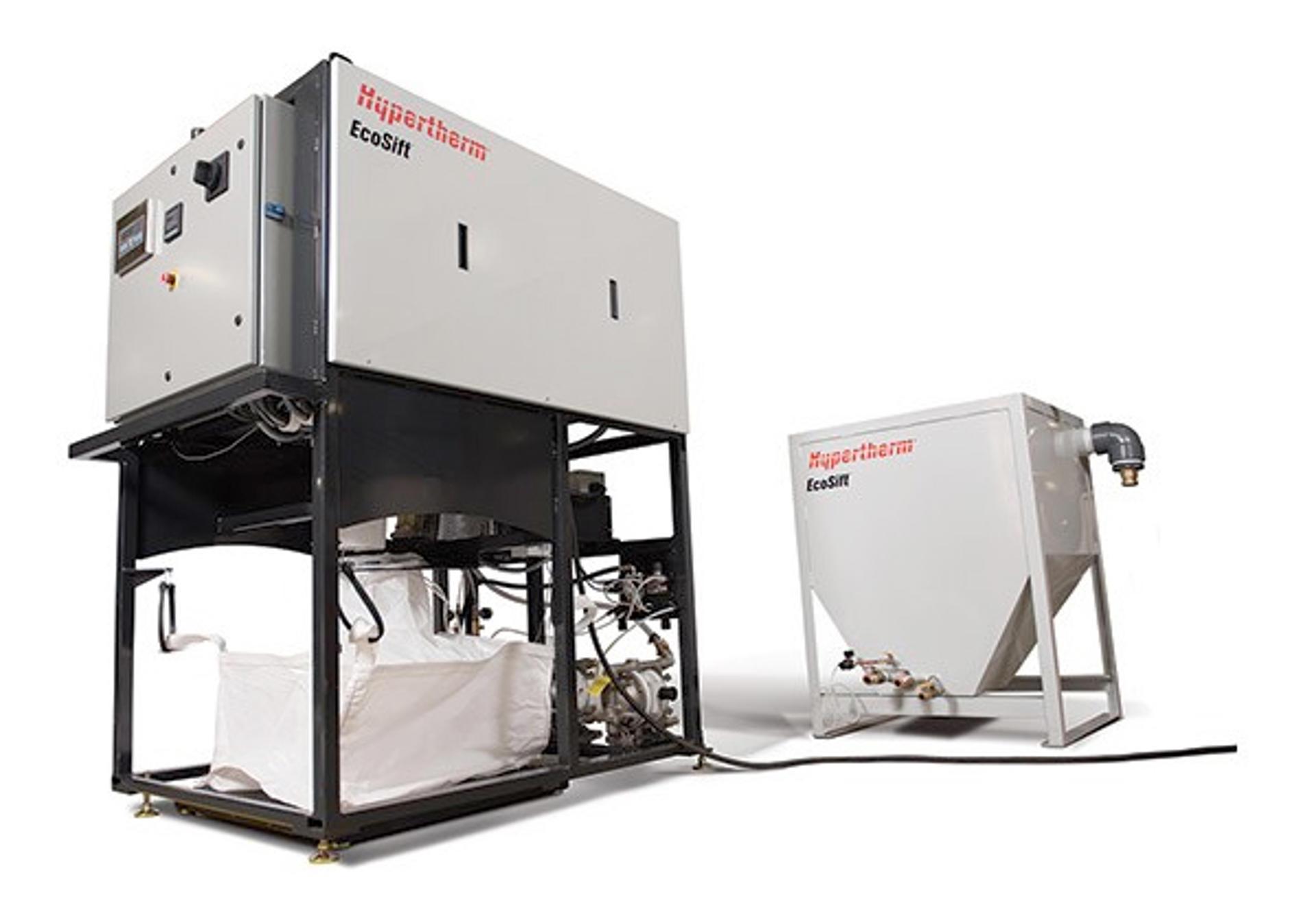 EcoSift™ abrasive recycling system | Hypertherm