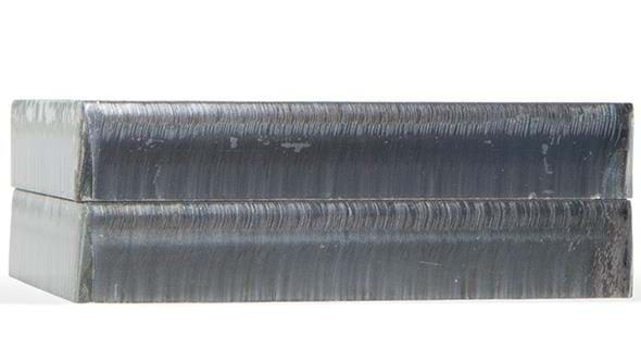 XPR300 cut sample - mild steel @170 amps